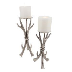 "Holiday Antler Candle Holder 16"" High (1 piece)"